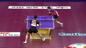 I Guarantee You Have Never Seen Table Tennis Played So Good table tennis