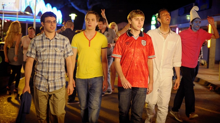 the inbetweeners movie, the archetypal lads holiday
