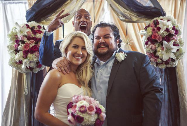 The Rock Officiated A Surprise Wedding For His Friend unnamed2