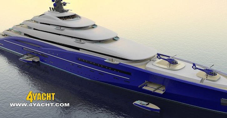 Worlds Largest Yacht Is Length Of Two Football Fields, Costs $800 Million yacht fb