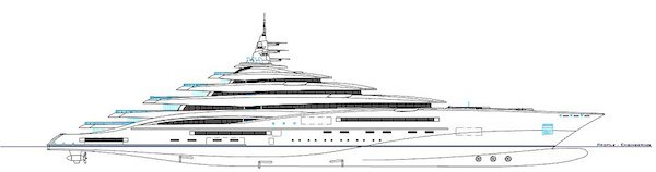 Worlds Largest Yacht Is Length Of Two Football Fields, Costs $800 Million yacht