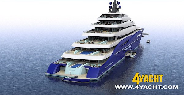 Worlds Largest Yacht Is Length Of Two Football Fields, Costs $800 Million yacht1