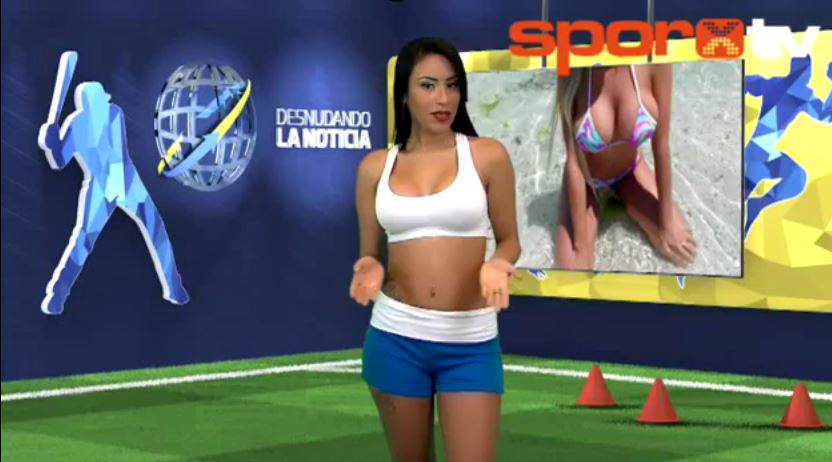 Reporter Strips Totally Naked While Reporting On Cristiano Ronaldo yuvi