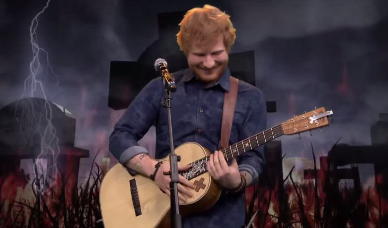 Ed Sheeran  Makes Pleasant Acoustic Covers Of Heavy Metal And Rap Songs 113