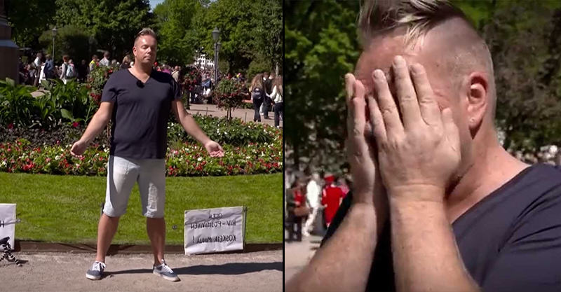 HIV Positive Man Asks Strangers To Touch Him 1141