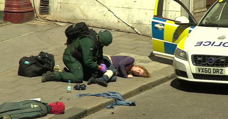 Massive Counter Terrorism Exercise Goes Down  In London 1164
