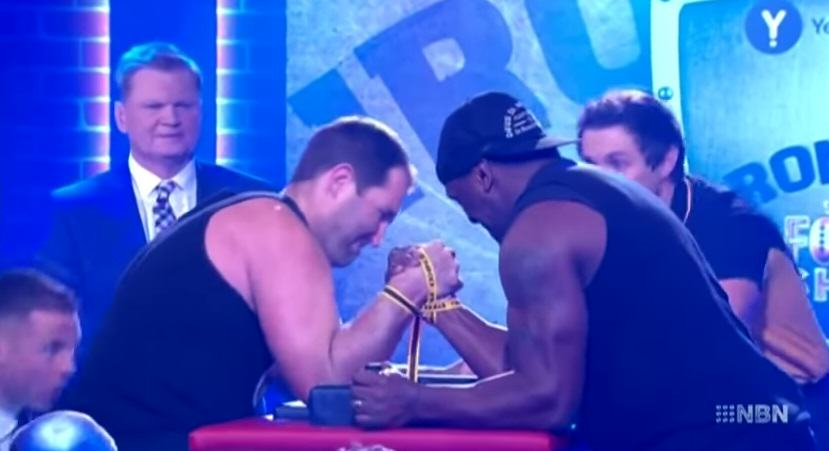 This Video Of An Arm Wrestlers Arm Breaking On Live TV Is Horrific 144