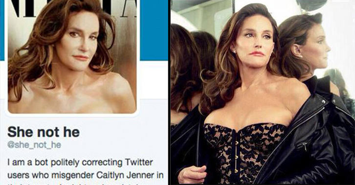 If You Misgender Caitlyn Jenner, This Twitter Bot Will Correct You 16