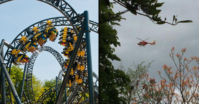 Four Injured In Alton Towers Rollercoaster Crash 18