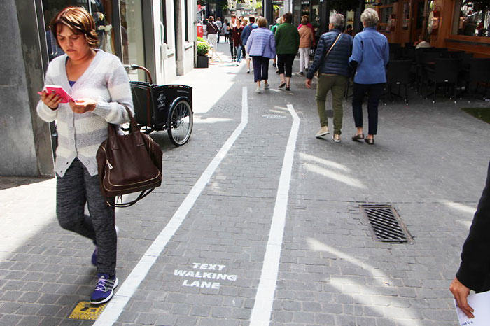 Are You Glued To Your Phone Enough To Walk In The Text Lane? 187