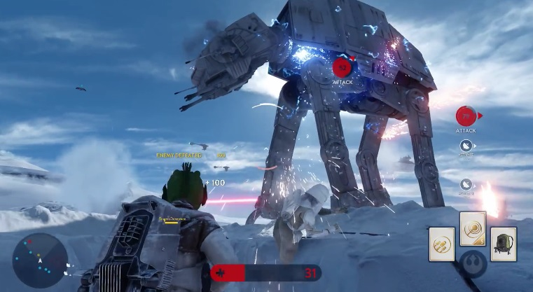 Star Wars Battlefront Multiplayer Footage Unveiled At E3   Get Excited! 220