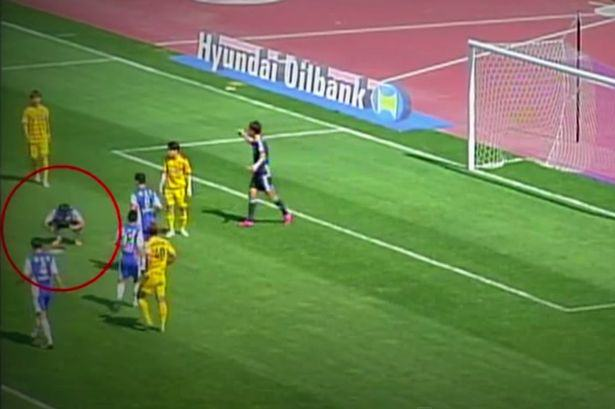 Goalkeeper Stops Penalty Taker From Scoring, By Ruining The Spot 37