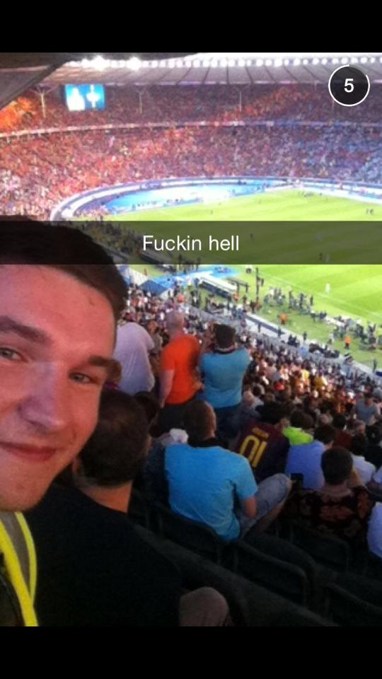This Irish Lad Managed To Blag His Way In To The Champions League Final 51