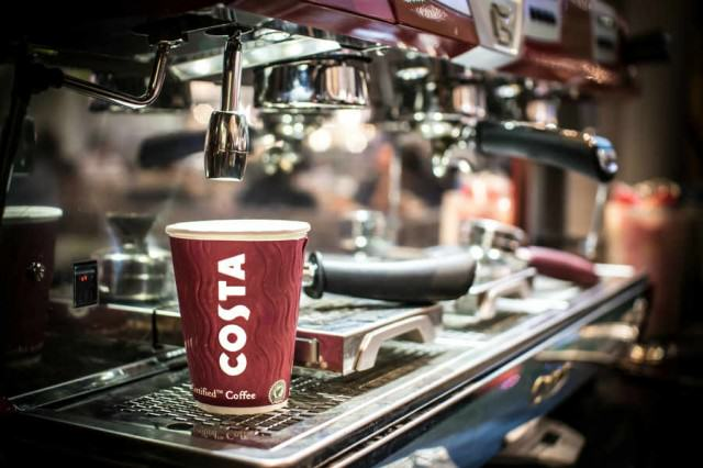 High Street Chains Pay Their Workers Below The Living Wage CostaCoffee machine 640x426