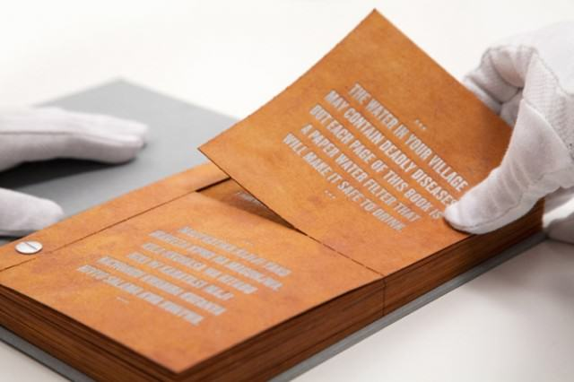 This Drinkable Book Could Save Millions Of Lives Drinkable Book 640x426