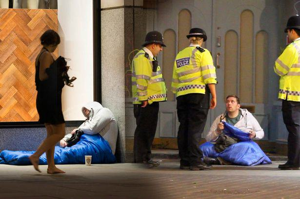 Homeless People To Pay Fines Of Up To £1,000 For Sleeping Rough Homeless Main