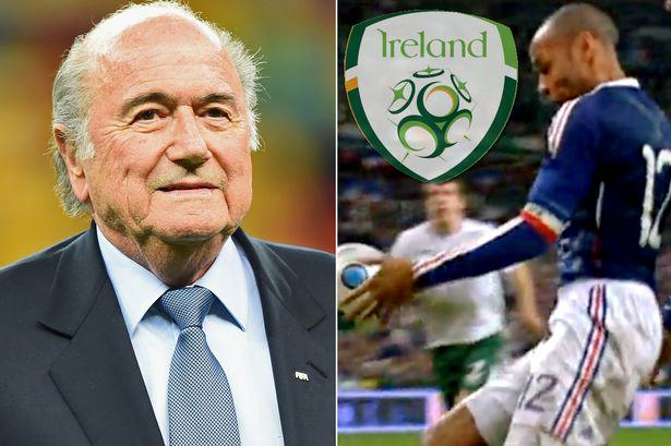 FIFA DID Pay The FAI After That Thierry Henry Handball Ireland payment main
