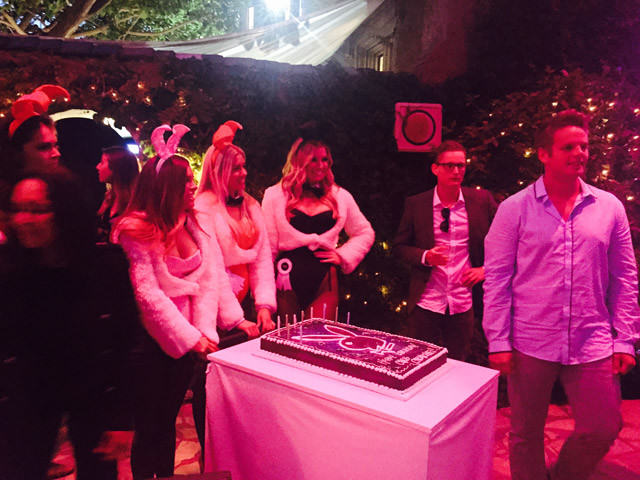 We Were Invited To The Playboy Mansion To Watch Entourage And It Was Exactly What We Expected! Playboy Mansion 181