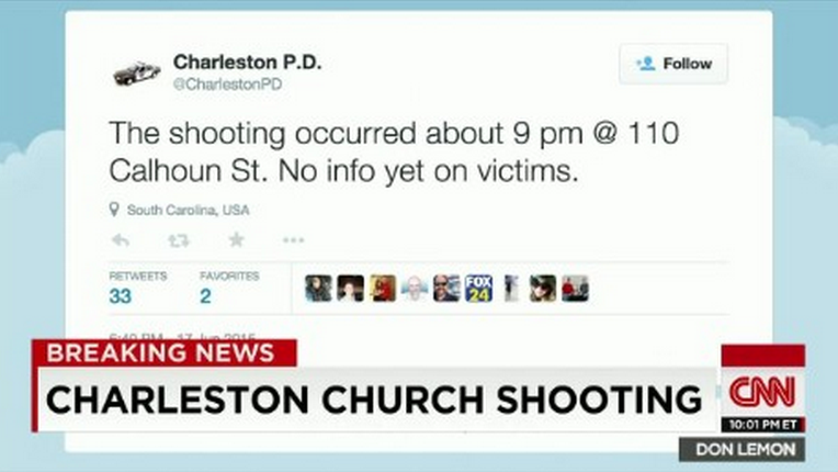 Five Year Old Played Dead To Survive South Carolina Church Massacre Screen shot 2015 06 18 at 11.01.07