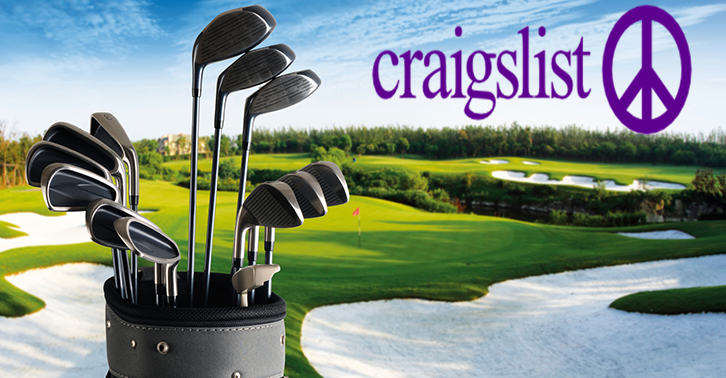 This Lad Posts A Craigslist Ad Selling His Golf Clubs, Blaming His Killjoy Wife TN121