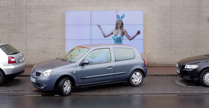 This Smart Billboard Will Help You Parallel Park TN132