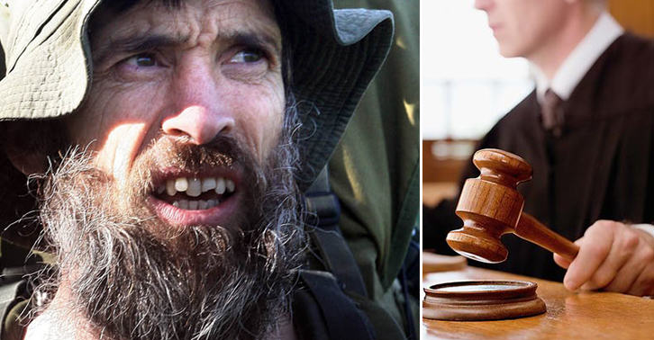 The Naked Rambler Loses Appeal After Appearing Before The Judge Completely Naked TN133