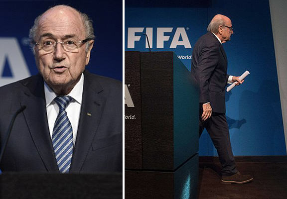FIFA Presidential Election To Replace Sepp Blatter Likely For Mid December blatter resigns WEB1