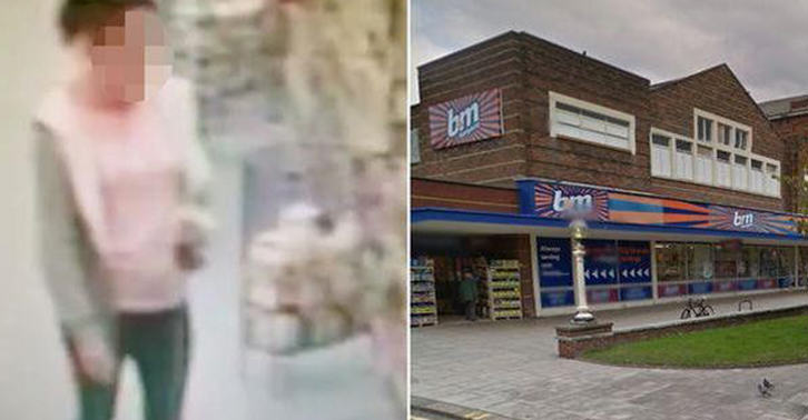 Woman Takes POO In Middle Of B&M Store, Leaves It For Staff To Clear Up bm fb
