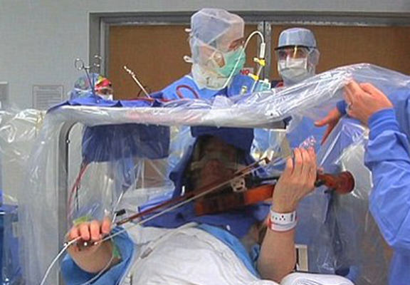 Man Undergoes Brain Surgery, Plays Yesterday By Beatles At The Same Time brain web