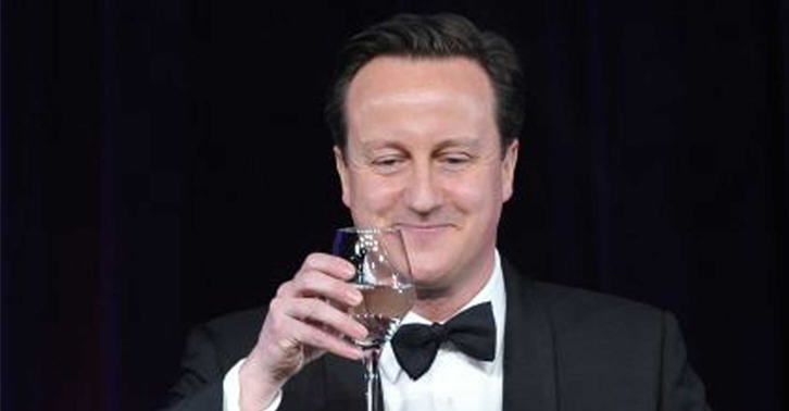 MPs To Get 10% Pay Rise, But Remember Were All In This Together cameron smug