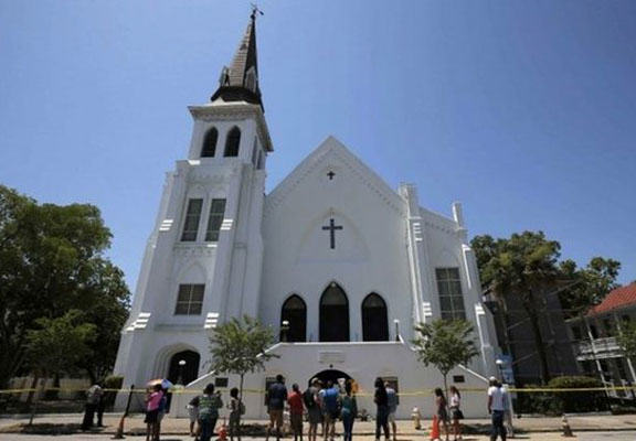Charleston Church Reopens With Positive Message Of Love, Recovery And Healing charleston church WEB