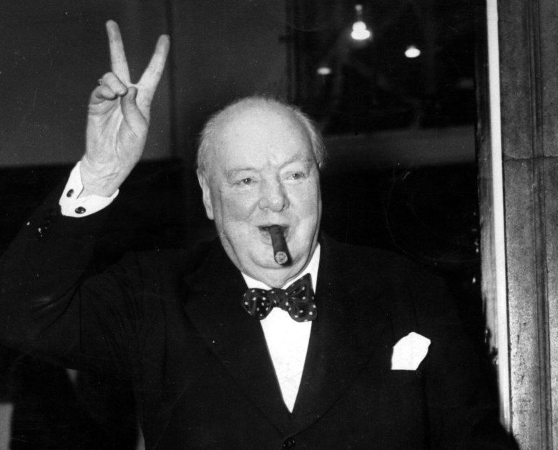 Winston Churchill Was Not Gay, Rated Women Out Of 1,000 At Parties churchill1