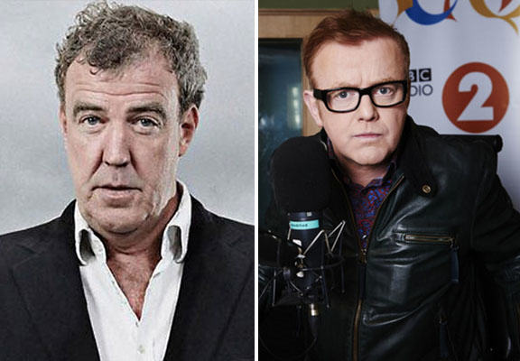 Jeremy Clarksons New Show Could Be On ITV And Run Head To Head Against Chris Evans Top Gear clarkson evans WEB2
