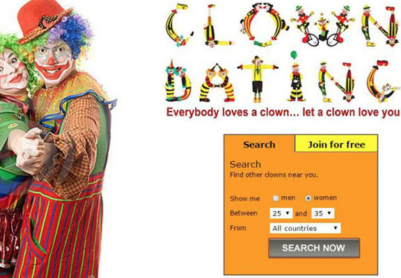 A Dating Site For Clowns Is A Real Thing That Exists clown web