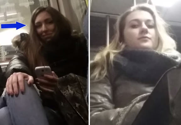 Crotch Cam Catches Women In The Act On Public Transport crotch cam WEB