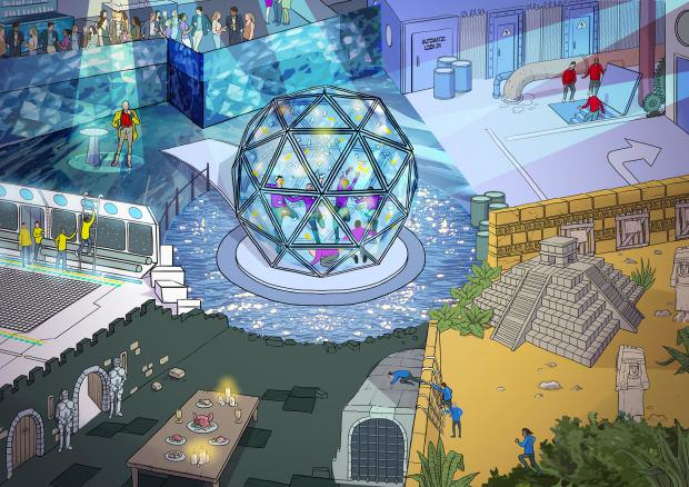 The Crystal Maze Is Returning With Host Richard O'Brien crystal maze 2