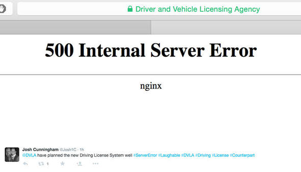 Drivers Furious As DVLA Website Crashes As Paper Licences Are Abolished dvla1