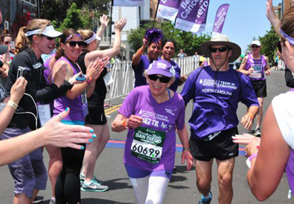 92 Year Old Woman Becomes Oldest Woman To Complete Marathon harriette web