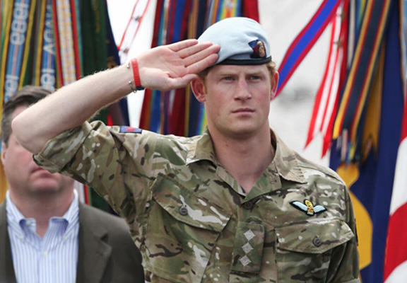 Prince Harry Bows Out Of Army After A Colourful Career harry army WEB
