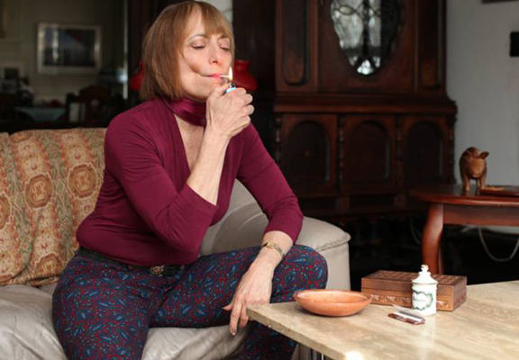 Pot Smoking Pensioner Claims Her Habit Has Kept Her Young hiller web