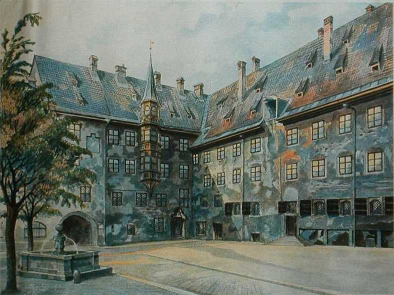 14 Of Adolf Hitlers Paintings Just Sold For £285,000 At Auction hitler art 3