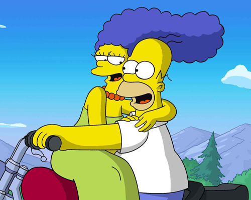 Homer And Marge Simpson Release Video Blasting Split Rumours hm