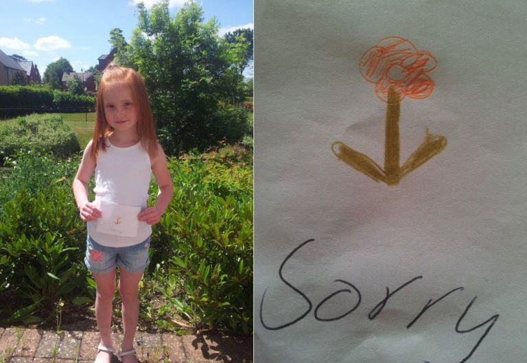 Girl Puts Card From Best Friend On eBay, It Gets Some Huge Bids For The Best Possible Reason holly comp