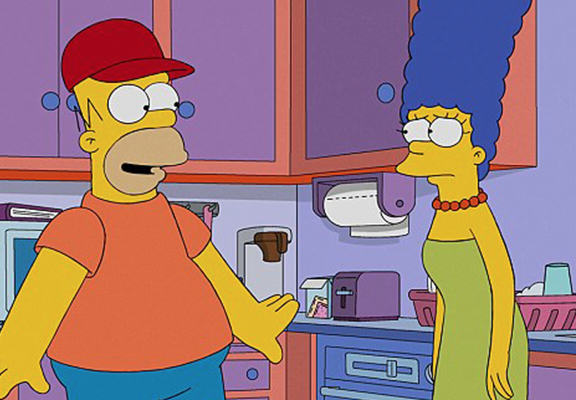 Simpsons Fans Can Relax, Homer And Marge WILL Get Back Together homer web