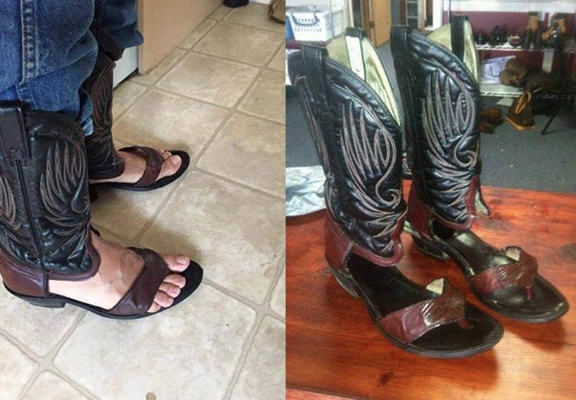 These Cowboy Boots Show Texans Have Totally Lost Their Minds imgur web