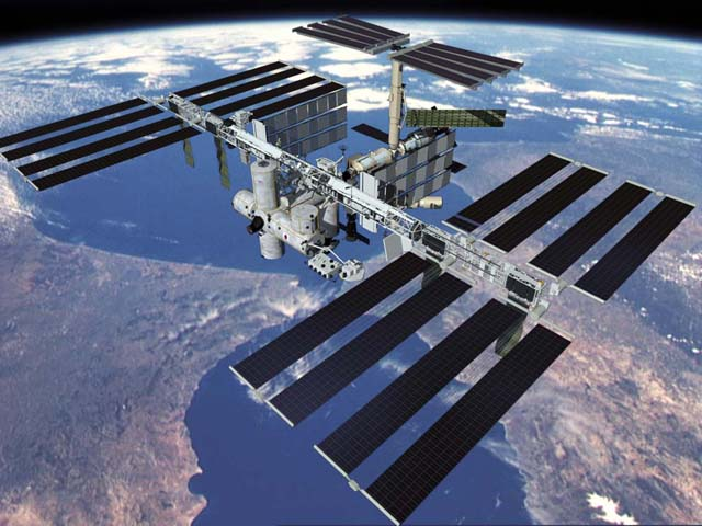 NASA Cut ISS Live Feed When It Shows UFOs Leaving Earth, Apparently iss future
