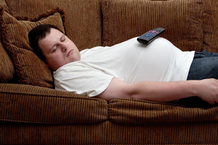 The UNILAD Guide To Buying Fathers Day Gifts istock small man on couch