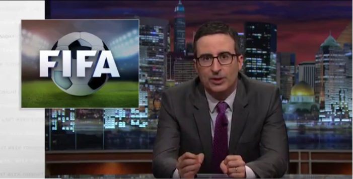 John Oliver Takes On Fifa For Second Time And Doesnt Disappoint john o fifa