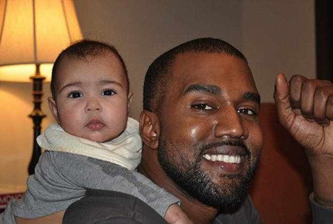 Which Point Of The Compass Will Kanyes New Kid Be Named After? kanye west and north west photo