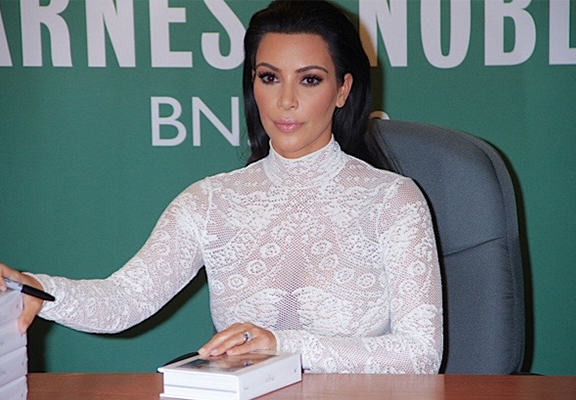 Kim Kardashian Is Going To Give A Talk On The Objectification Of Women kardashian book WEB